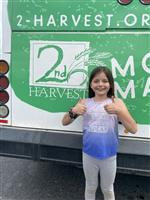 camryn at 2nd harvest