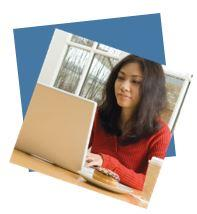 image of online student