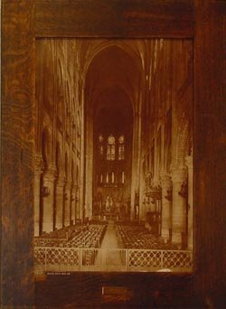 interior view of notre dame