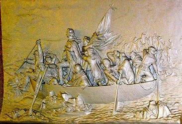 washington crossing the delaware