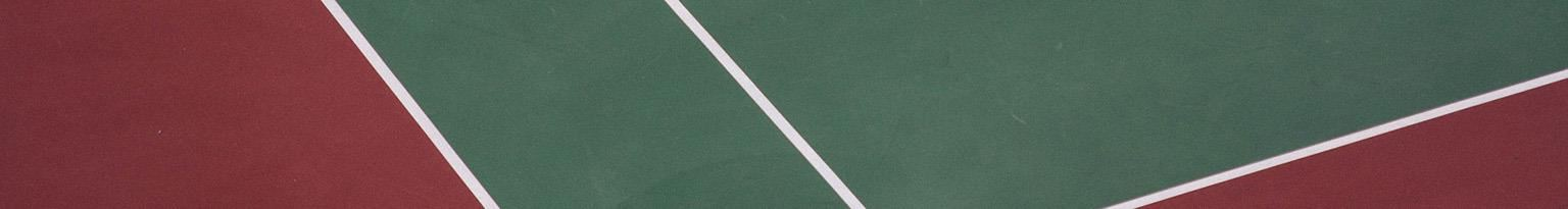 tennis court lines close up