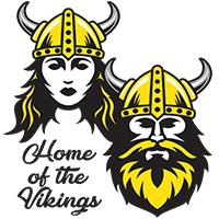Home of the Vikings Shaw logo