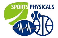 Graphic advertising sports physicals